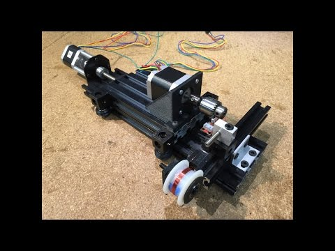 DIY Coil Winder  - With Arduino Mega And Marlin 3D Printer Firmware