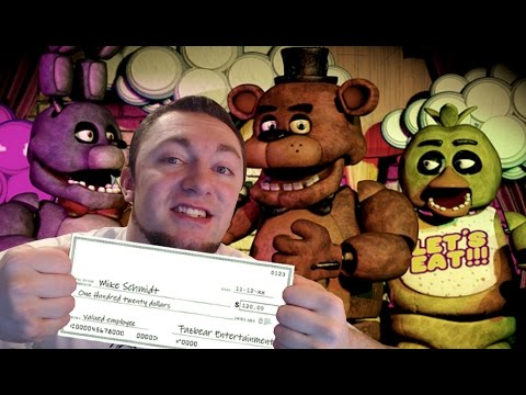 VICTORY! NIGHT 5 | Five Nights At Freddy's Ending (4)