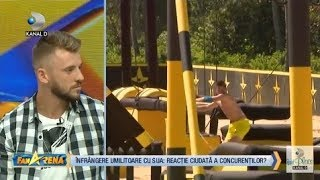 FanArena (03.09.2018) - Jaguarul a criticat reactia concurentilor dupa meciul international Partea 1