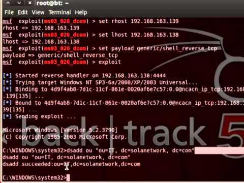How to Hack Windows Servers?