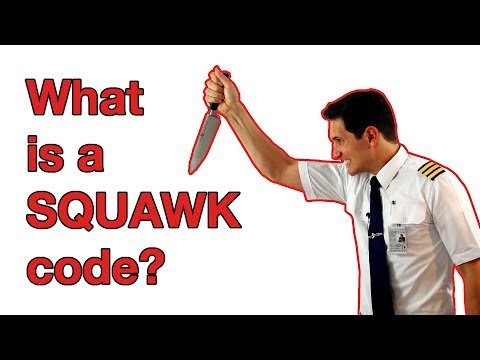 What is a SQUAWK CODE? -7500-7600-7700 EXPLAINED by CAPTAIN JOE