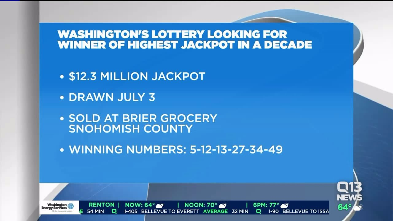 Unclaimed Lottery Winnings in Washington