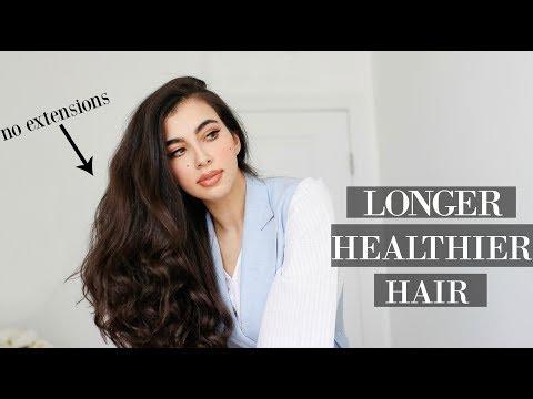 5 Tips for Longer, Stronger Hair - YouTube