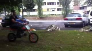 roue en cross
