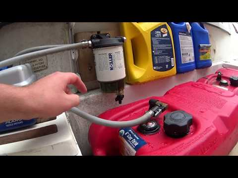 Moeller Clear Site Water Separating Fuel Filter - Review - Do I need a fuel water filter?