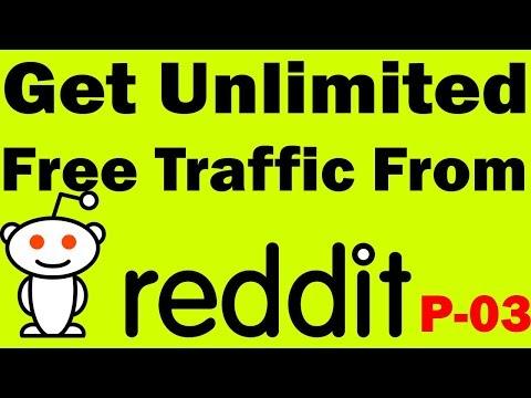 Reddit marketing | How to drive insane traffic with Reddit bangla | Reddit free traffic part 03