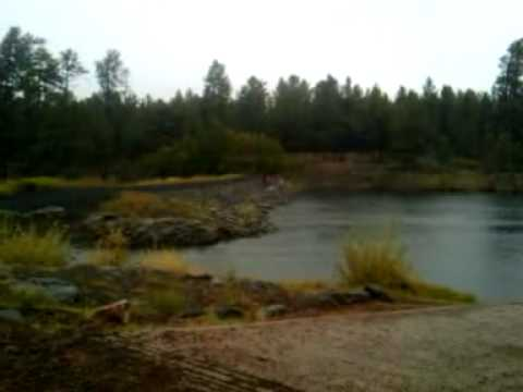 Little bear lake pinetop arizona oct 22 fishing in for Snow bear ice fishing