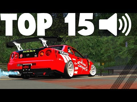 TOP 15 BEST SOUNDING CARS OF ALL RACING GAMES !! | Pure Sound, Downshifts & Exhaust Noises | 🔊