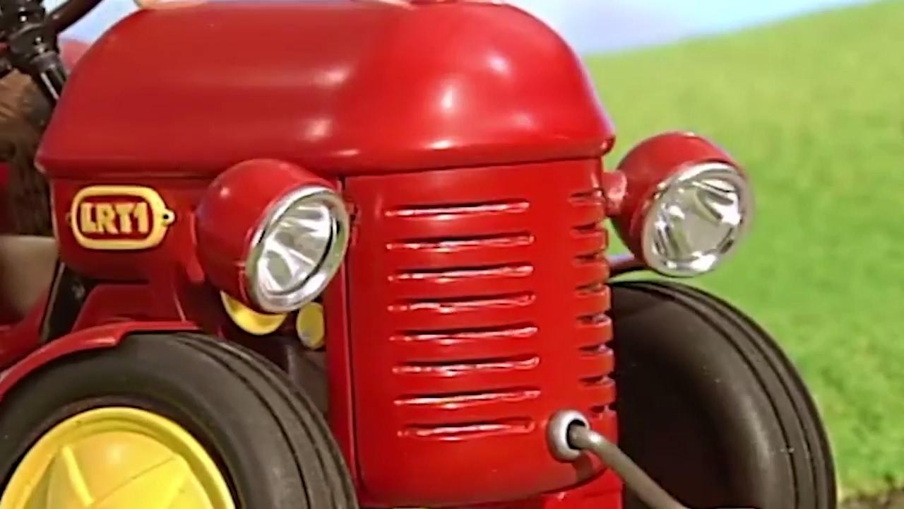 kleiner roter traktor  das ernfest  cartoon  ganze