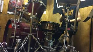 necronomicon with a west ground Drum Cover