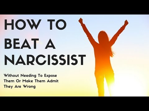 How To Beat A Narcissist Without Needing To Expose Them Or