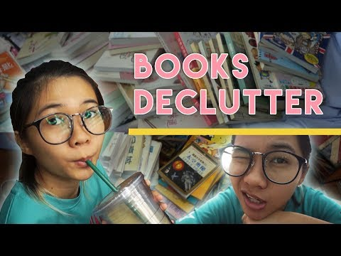 BOOKS DECLUTTER | 📕CHINESE 📘ENGLISH 📙COMICS 📒MAGAZINES