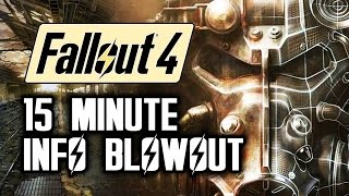 Fallout 4 News Power Armor Travelling, Stealth, Boston Map with Fallout 4 Gameplay