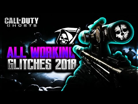 CoD Ghosts: ALL WORKING Glitches & Hiding Spots In 2018-FORVER (NEVER GONNA BE PATCHED)