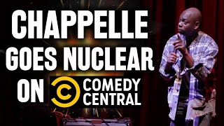 Dave Chappelle Goes Nuclear on Comedy Central As Netflix PULLS Chappelle's Show