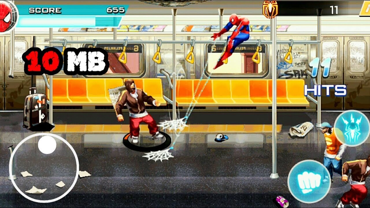 Amazing Spider Man 2 2D by Gameloft for Android (Free Offline)