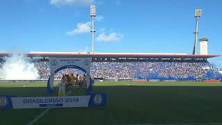 CSA x Atlético- GO - Torcida do CSA