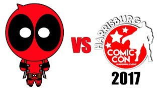 Deadpool vs Harrisburg Comic Con 2017