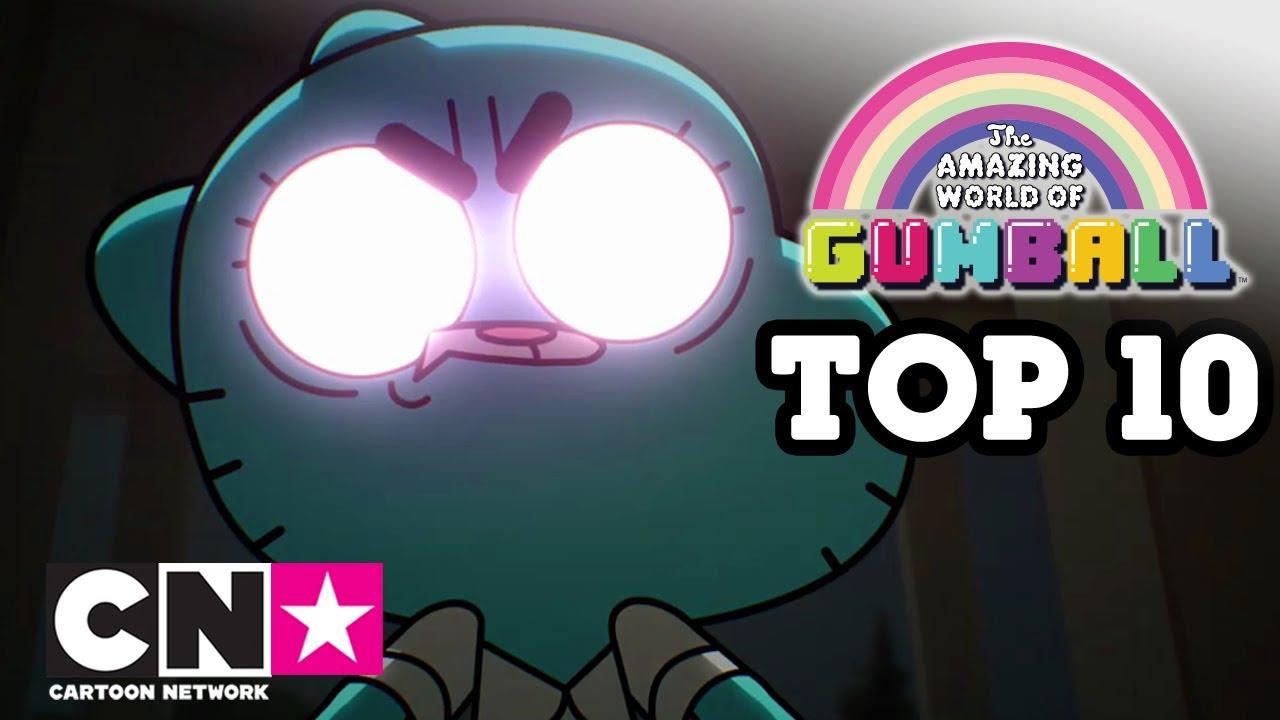 Niesamowity Świat Gumballa | Najlepszych momentów radzenia sobie ze złością Nicole | Cartoon Network