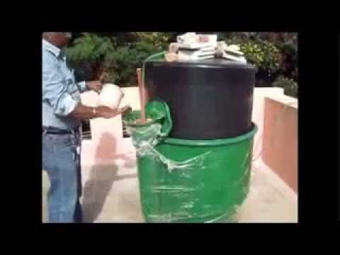 BIO GAS FOR COMMERCIAL& DOMESTIC USE FROM KITCHEN WASTE
