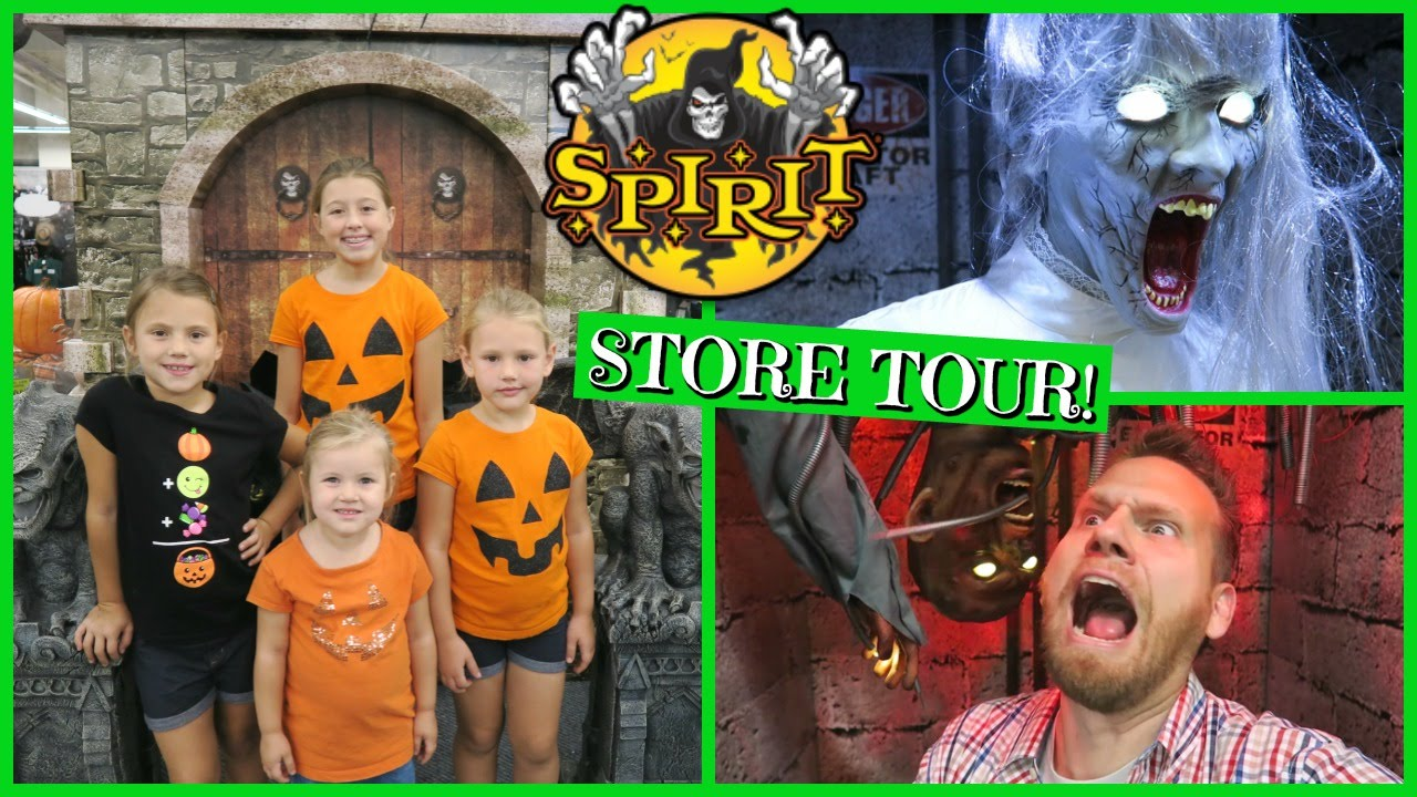 2016 spirit halloween store tour youtube