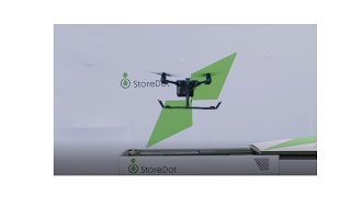 StoreDot Drone 5 min charging promo