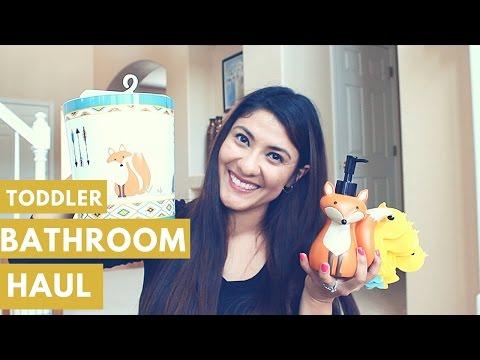 Kids Bathroom Decor Haul [YessyBaker] ❤