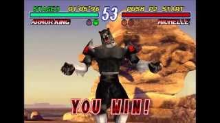 Tekken 2, Armor King Arcade Playthrough thumbnail