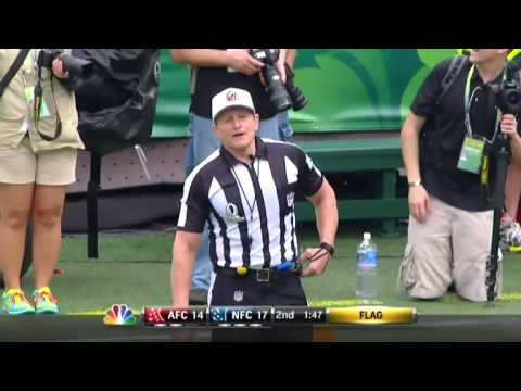 Ed Hochuli Yes, there are penalties in the Pro Bowl