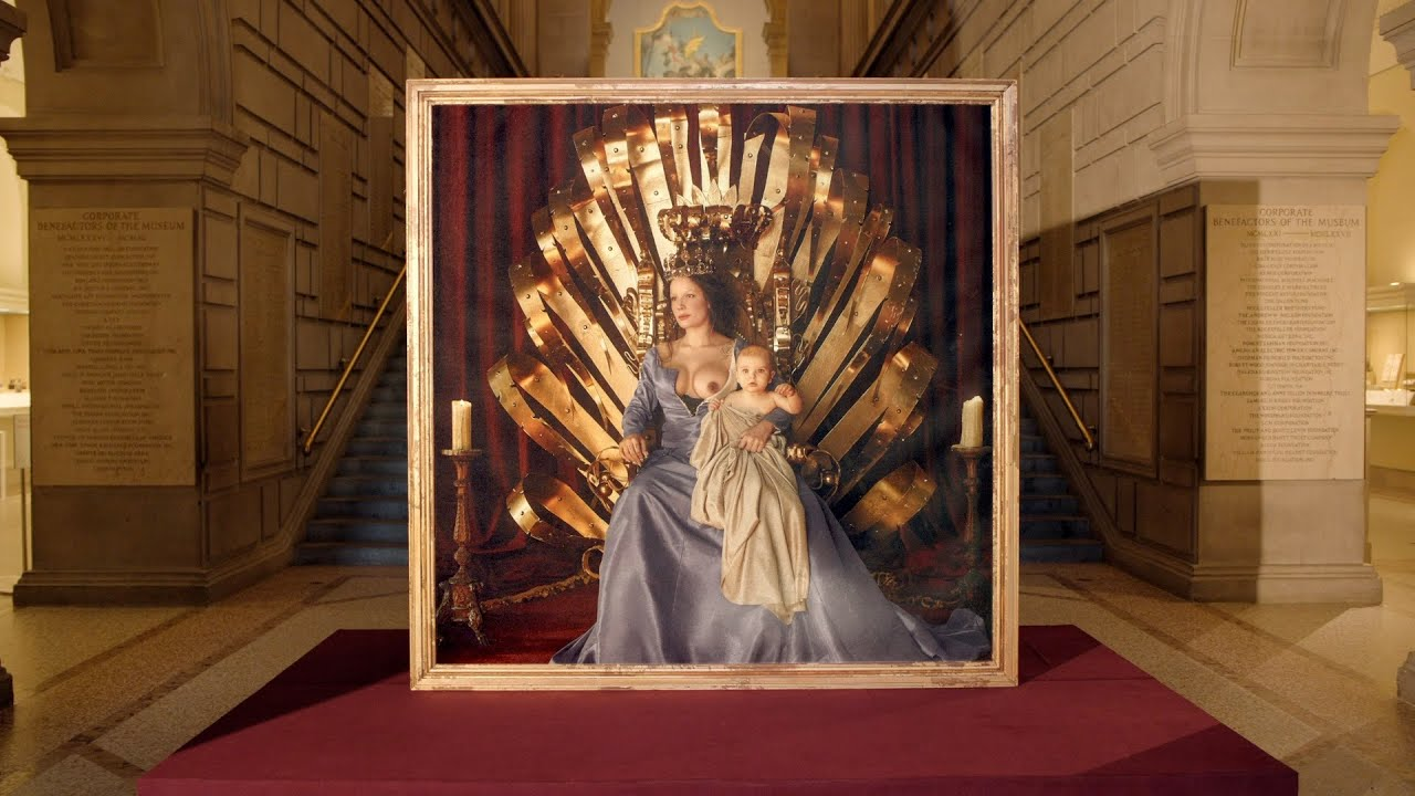 HALSEY UNVEILS ALBUM ARTWORK AT THE METROPOLITAN MUSEUM OF ART