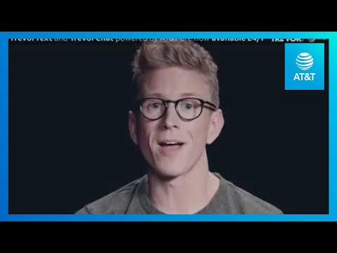 TrevorText & TrevorChat Now Available 24/7 (with Tyler Oakley) | AT&T Turn Up The Love