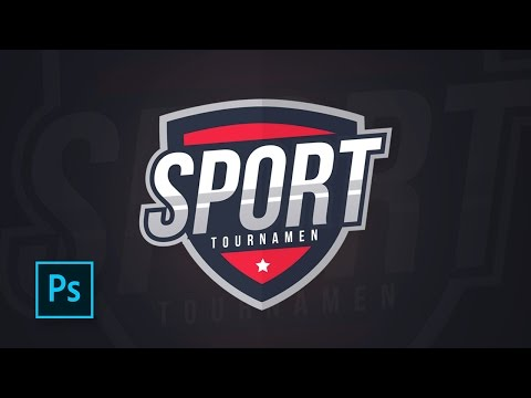 How To Make A Sports Logo Design With Photoshop - Photoshop Vector Tutorials