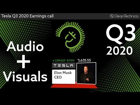 Tesla Q3 2020 Earnings Call (shortened fixed version)