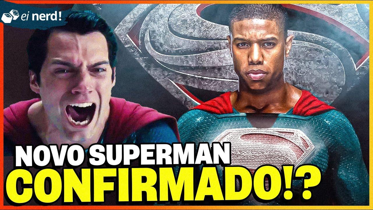 BOMBA! MICHAEL B JORDAN É O NOVO SUPERMAN