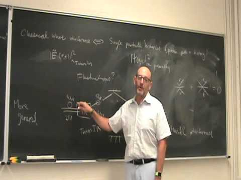UNM   Phys566F15 Podcast02   Quantum and Classical Coherence