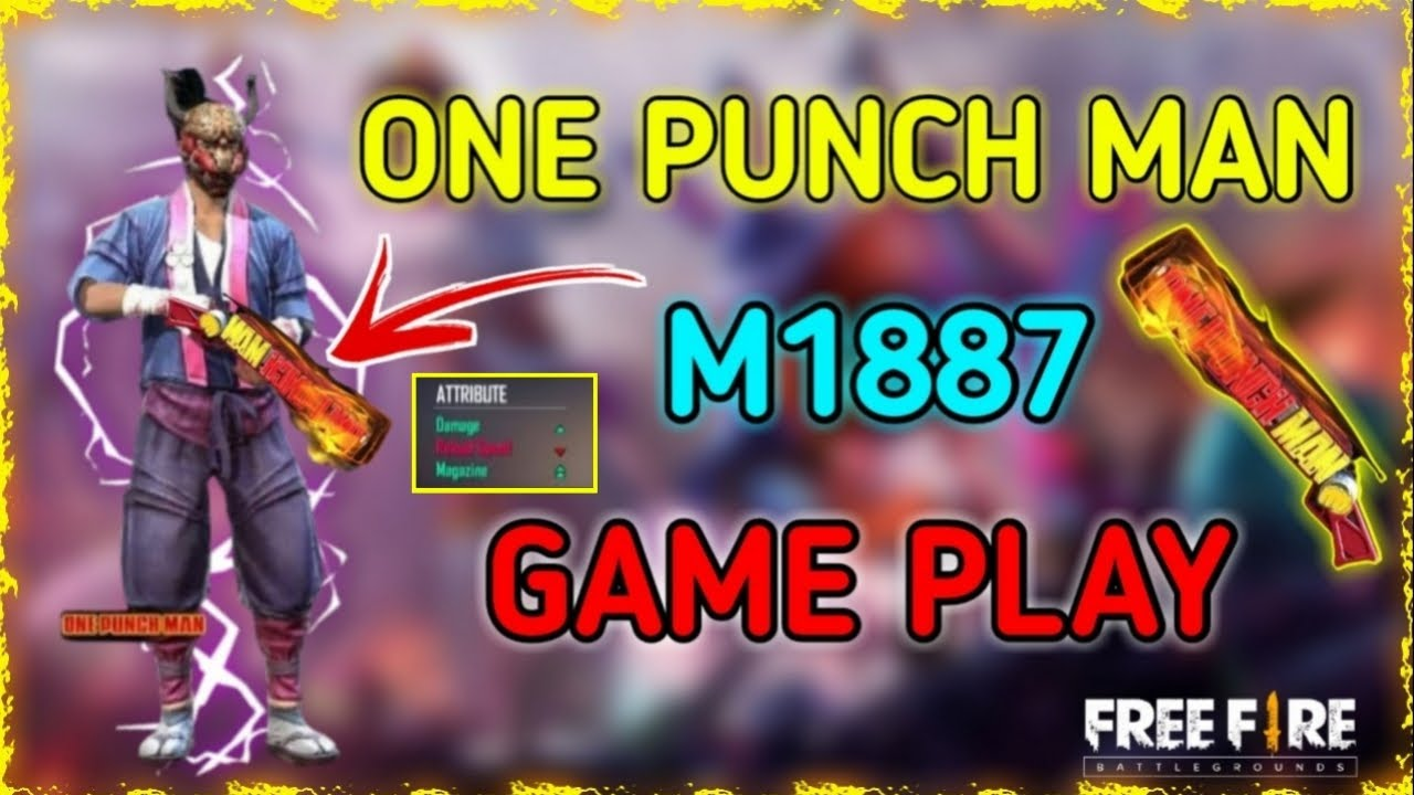 Download One punch man m1887 Game play 🔥🔥|| Skin power || power test😲😲 ||தமிழ்
