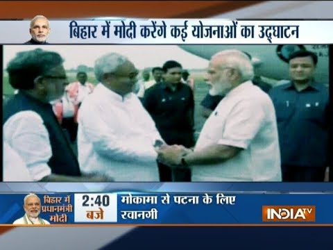 PM Narendra Modi to visit Bihar today, will launch projects worth crores