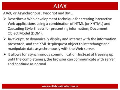 Introduction to JSON & AJAX