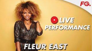 FLEUR EAST Live sur RADIO FG