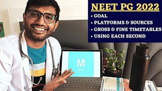 The Complete Micro Strategy to Crack NEET PG 2022 Using @Marrow 🔥 Ultimate Smart Schedule! 🎯 screenshot 4