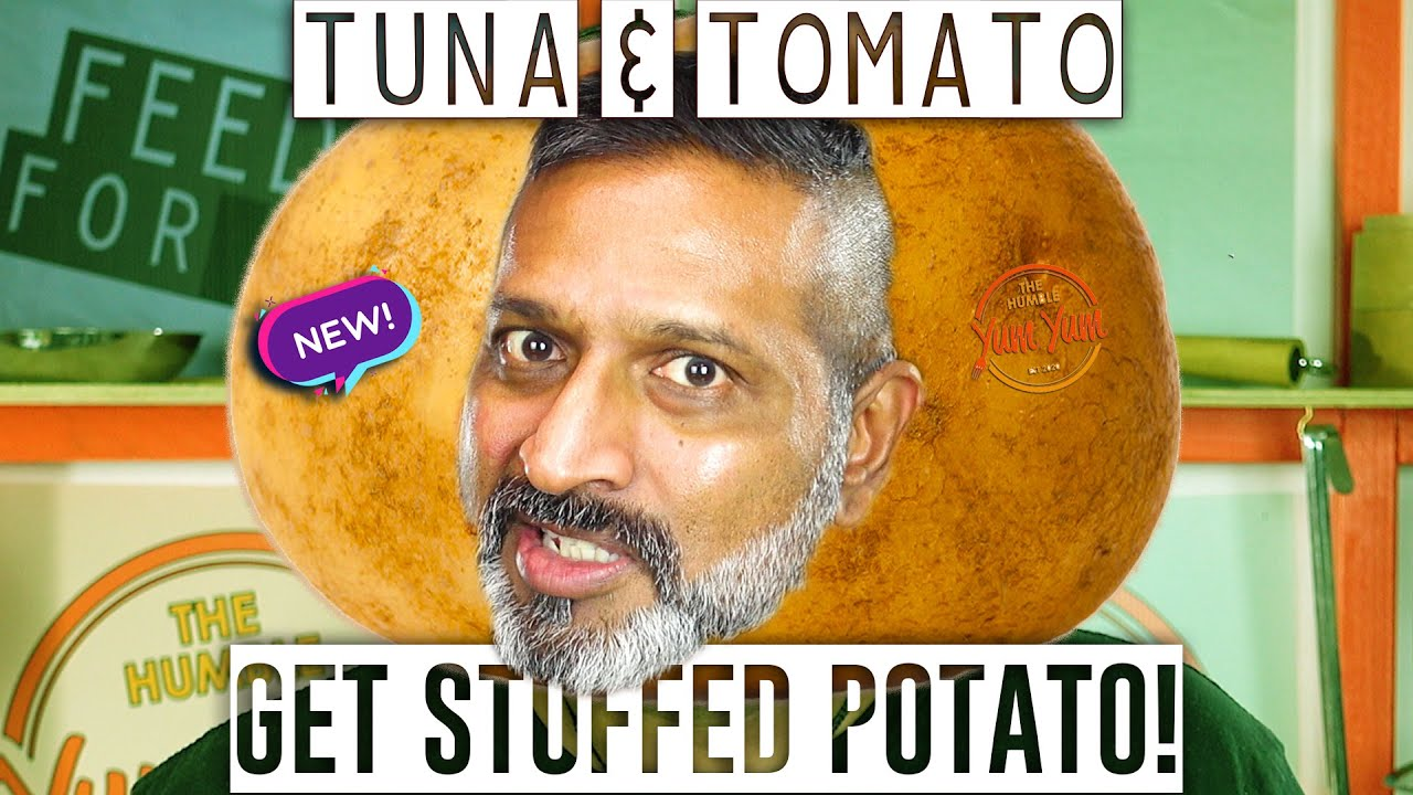 PART 3 of GET STUFFED POTATO! - Tomato, Tuna & Cheese! - Feed 4 for under $20! ONE POT - ONE PAN