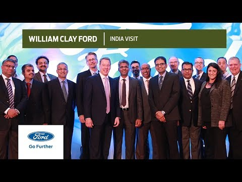 William Clay Ford Jr. | India Visit