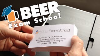 Flashcards for the Certified Beer Server exam