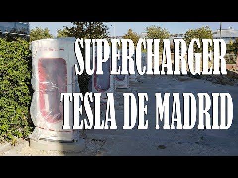 SUPERCHARGER TESLA MADRID
