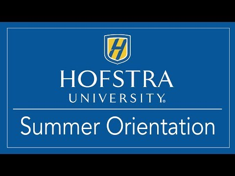 New Student Orientation - Hofstra University