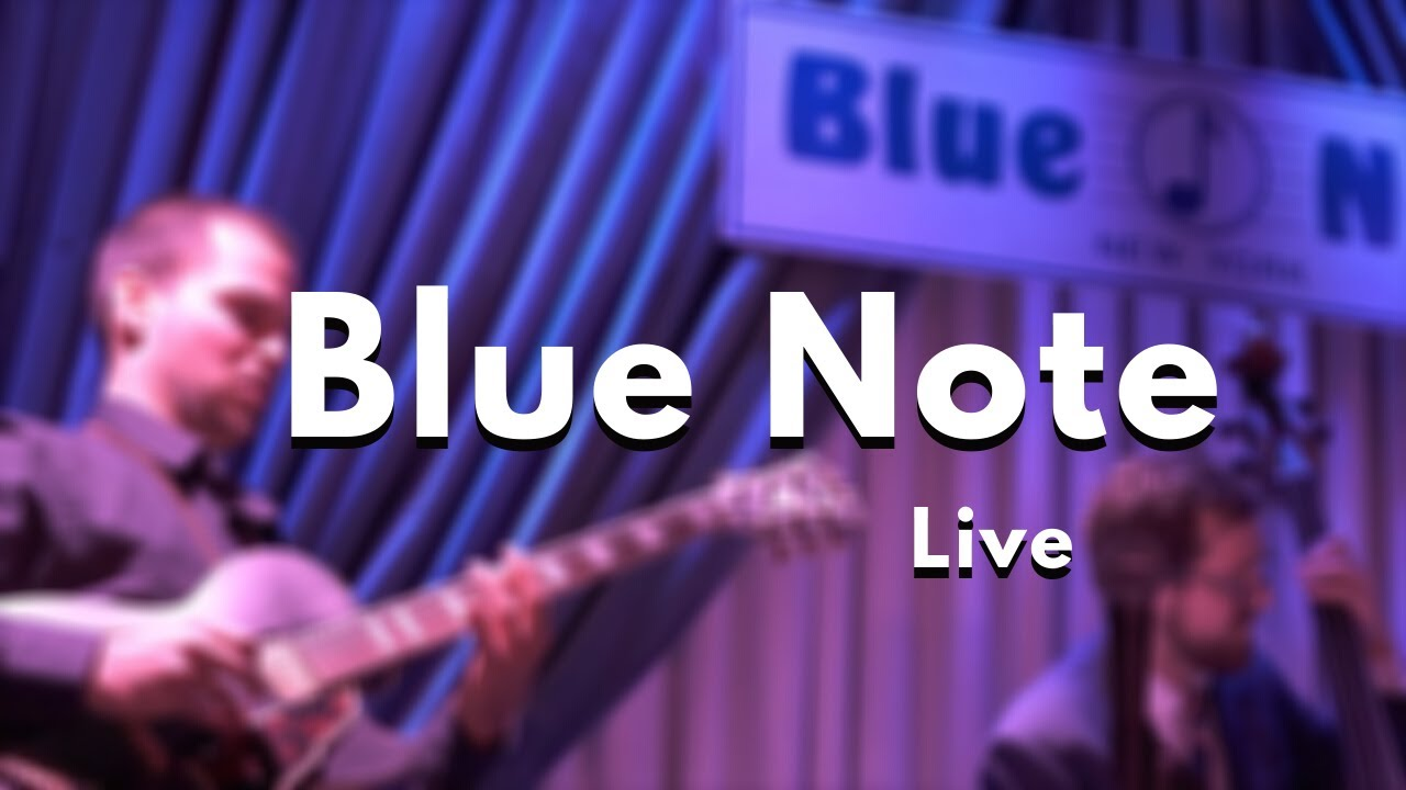 Blue Note Jazz Club NY - It Might As Well Be Spring (Trio Millionaires)