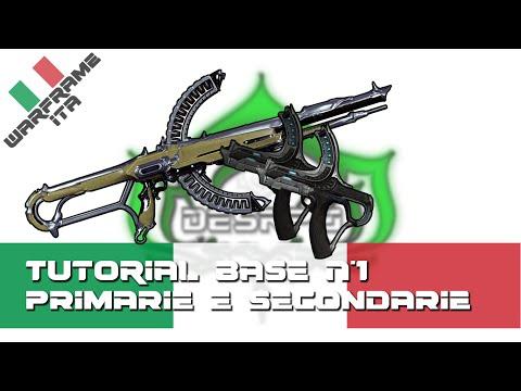 Warframe ITA - Tutorial Base N°1 - Come moddare Armi Primarie e Secondarie secondo DesRPG