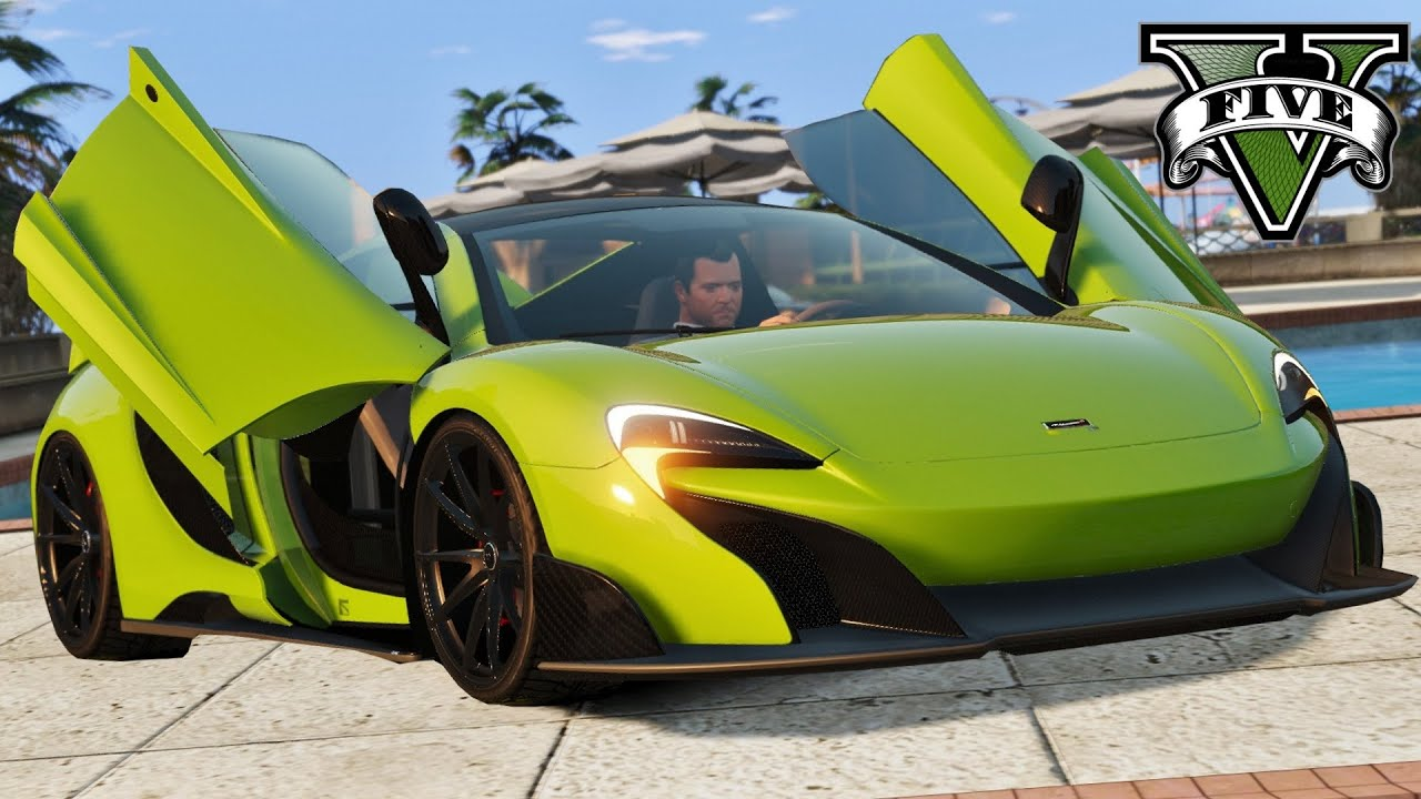 gta 5 2016 mclaren 675 lt voiture la plus rapide youtube. Black Bedroom Furniture Sets. Home Design Ideas