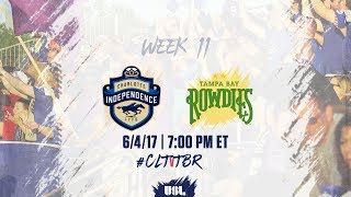 Charlotte Independence vs Tampa Bay Rowdies full match