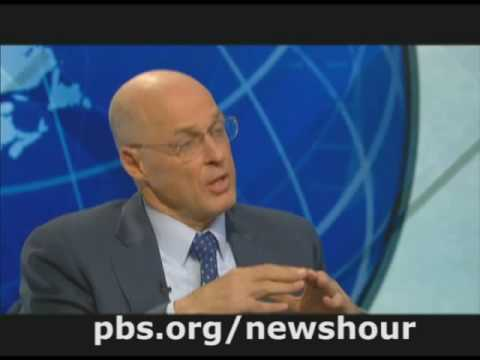 THE NEWSHOUR WITH JIM LEHRER |  Henry Paulson Interview |  PBS
